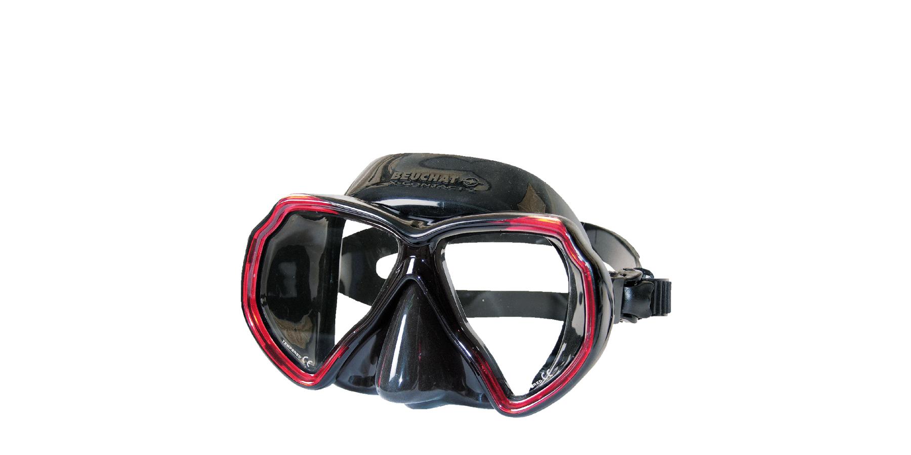 masque x contact 2 mini silicone clair - Un masque idéal pour faire monter des verres correcteurs