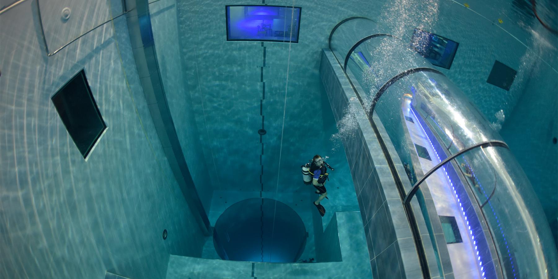 Les fosses de plong e de 20 m tres en france plongez for Accessoire piscine dijon