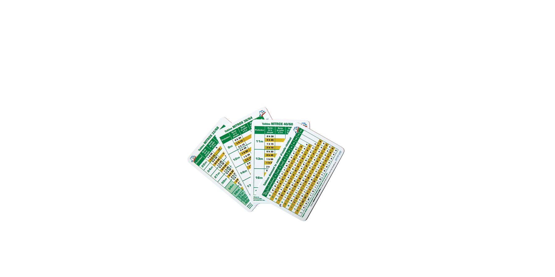 Tables de d compression pour la plong e au nitrox plongez - Table nationale de codage de biologie ...