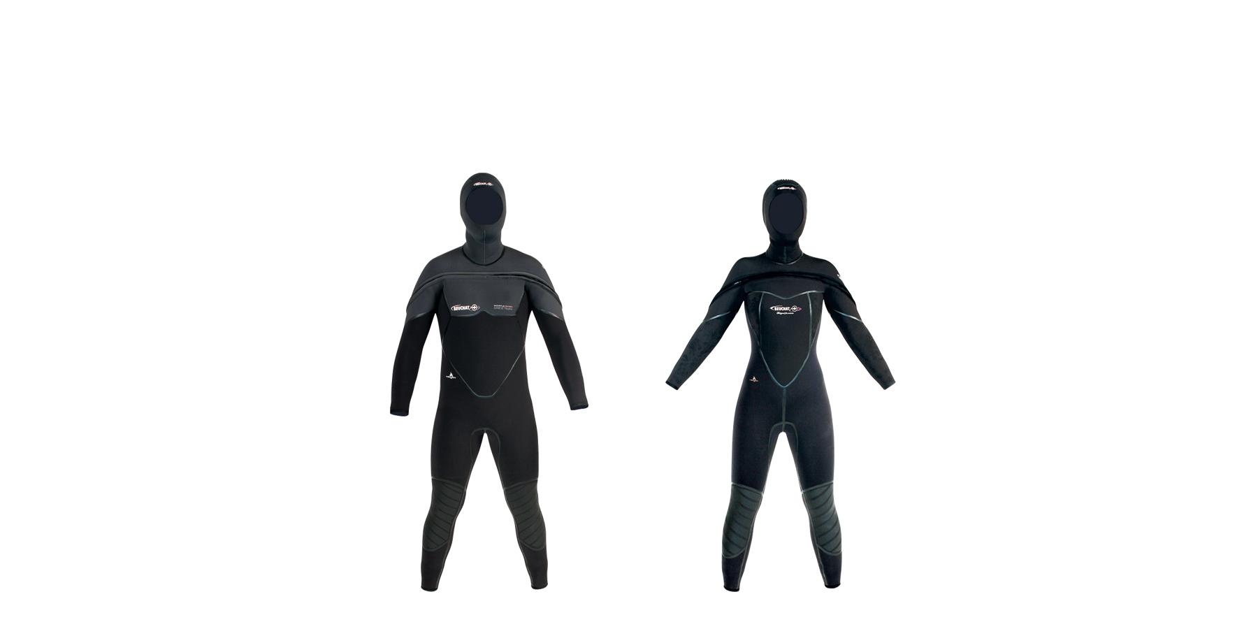 med c zip 1 - Un vêtement humide hybride chaud et confortable