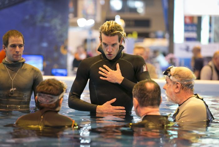 DavidAROUS Salon de la plongee2016 1 700x470 - 55 000 visiteurs au 18ème Salon de la plongée