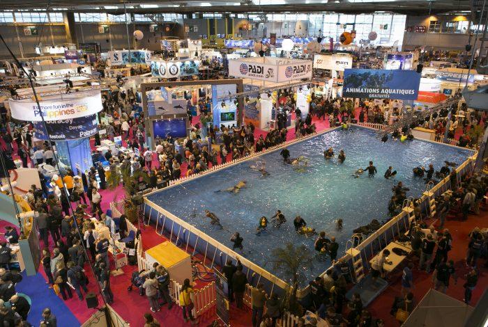 DavidAROUS Salon de la plongee2016 4 700x470 - 55 000 visiteurs au 18ème Salon de la plongée