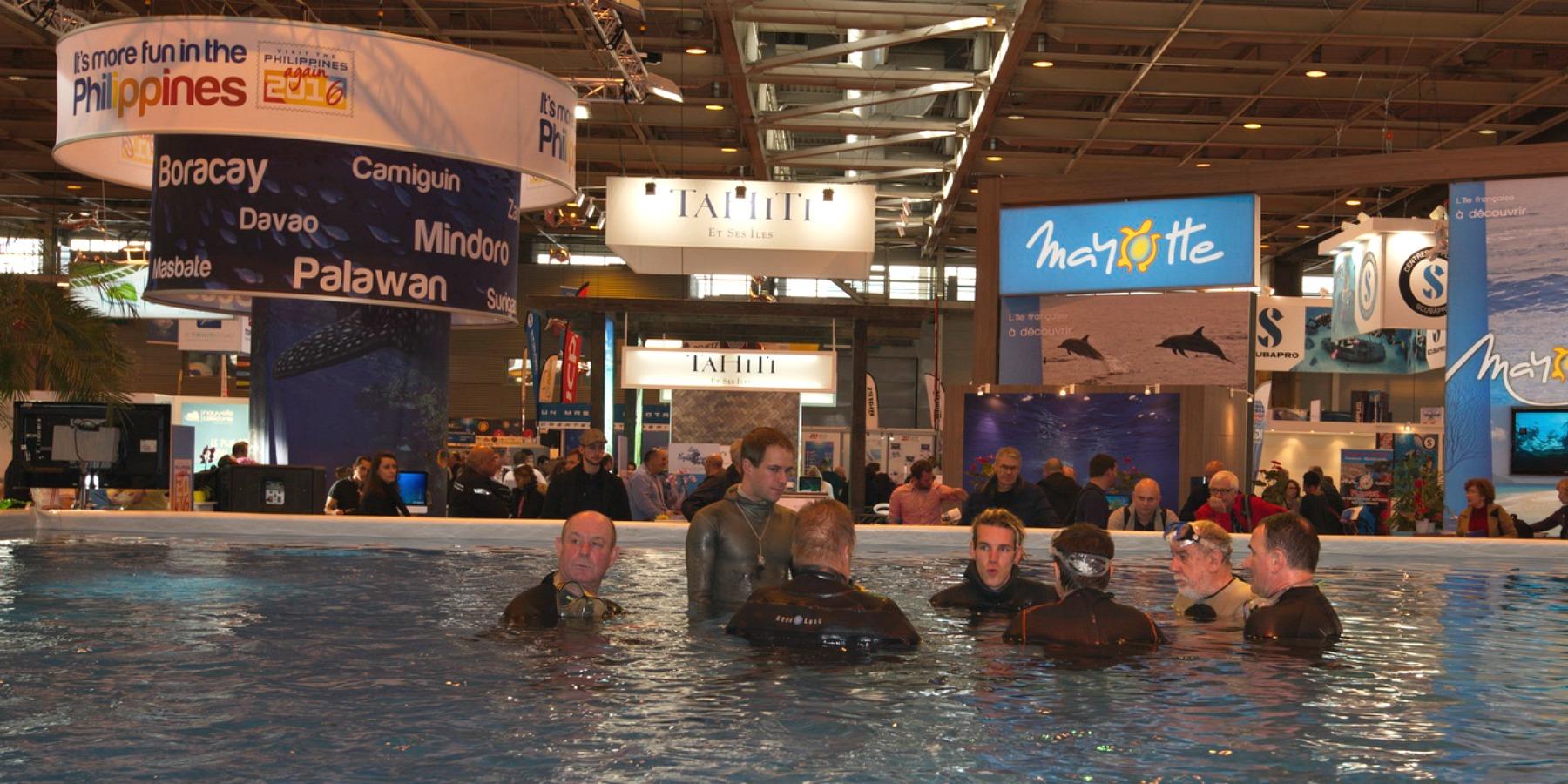 SalonPlongee1800x900 - 55 000 visiteurs au 18ème Salon de la plongée