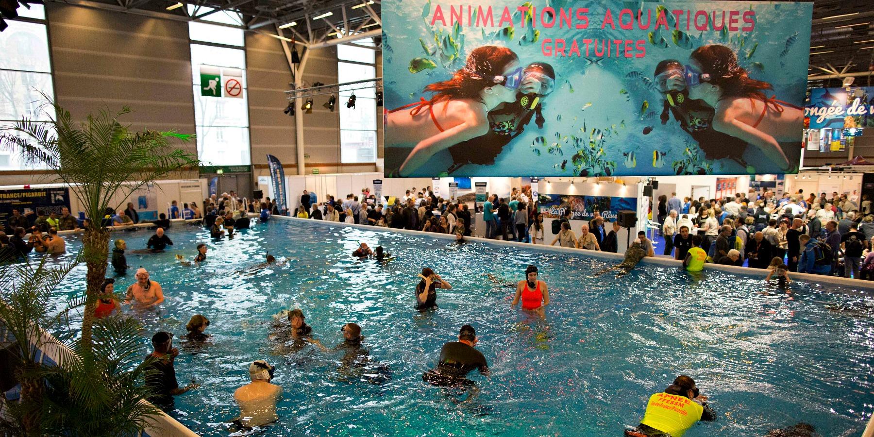 ambiance animations aquatiques 27 - Salon de la plongée : tout un programme !