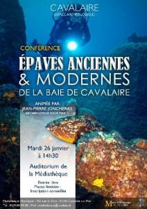 Conférence le mardi 26 janvier à 14h30