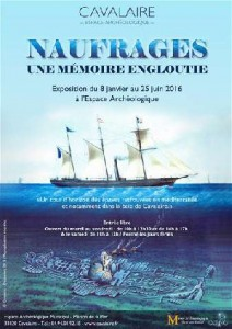 Exposition du 8 janvier au 25 juin 2016 à l'Espace archéologique municipal de Cavalaire