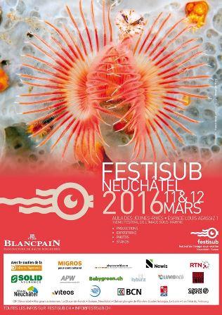 Affiche du festival © Franco Banfi pour Festisub