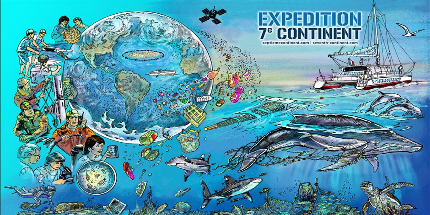 Dominique Serafini1 - Expédition 7e Continent : comprendre et explorer pour mieux sensibiliser
