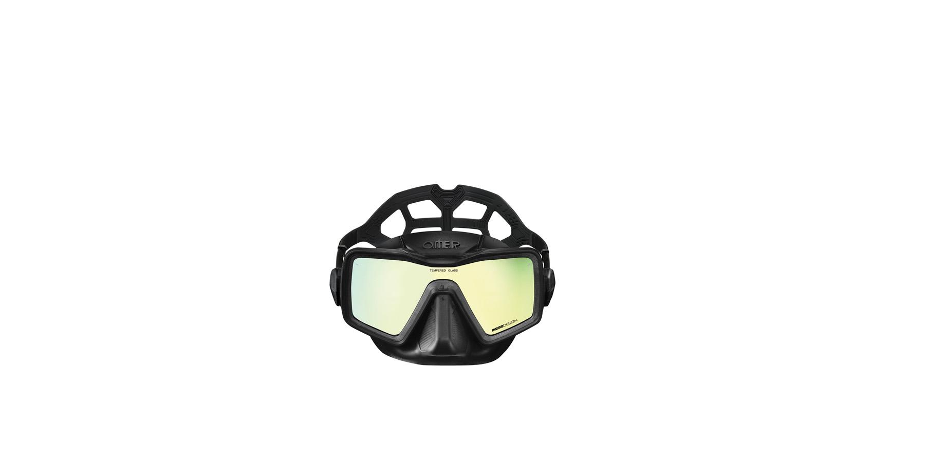 MAsch - Un masque d'apnée mono vitre