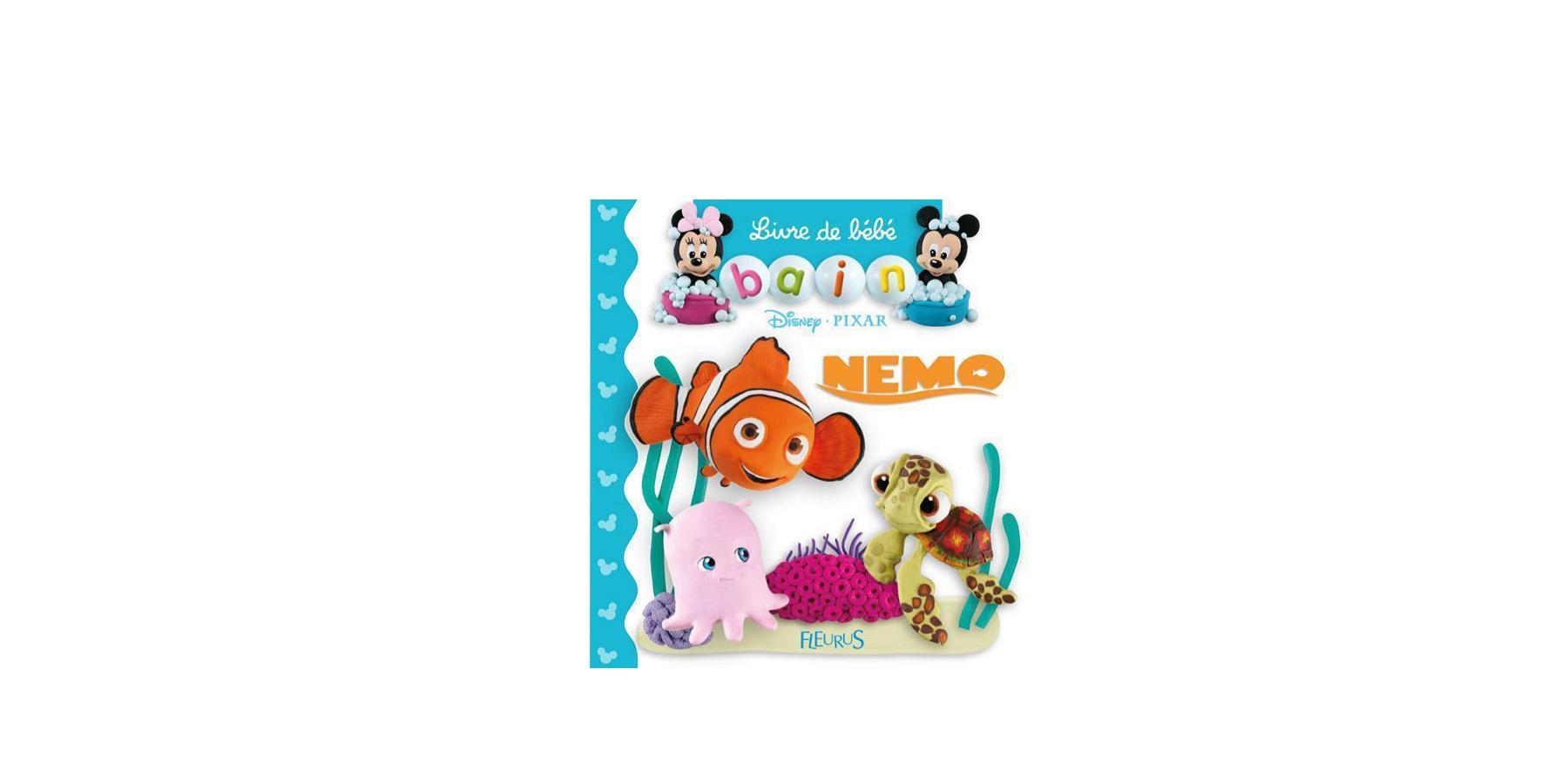 Livre De Bain Pour Bebe Nemo