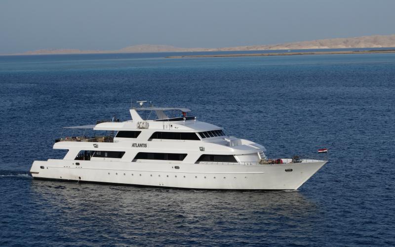 L'Atlantis emmènera les 24 passagers dans les plus beaux sites de plongée du Soudan © Ivan Aliberti