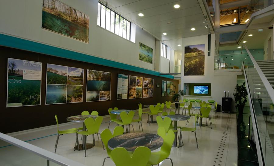 Exposition au Pavillon de l'Eau © Association Reflets d'eau douce