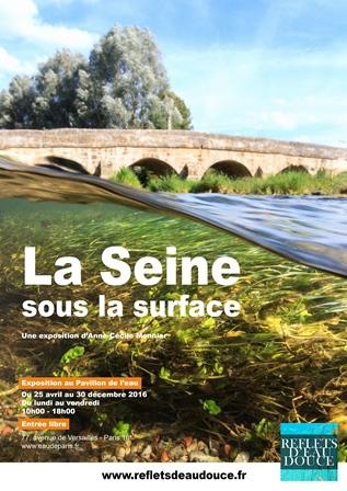 Affiche de l'exposition © Association Reflets d'eau douce