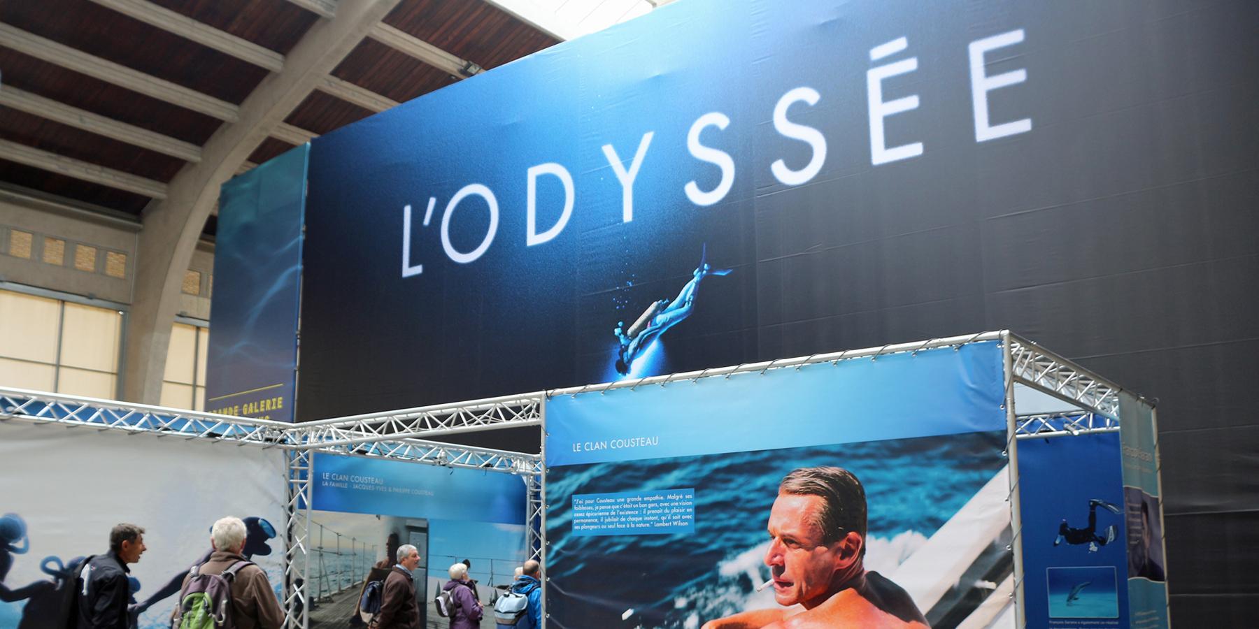 expoodyssee - Jusqu'au 30 novembre à la Cité de la Mer : 'l'Odyssée, l'exposition'