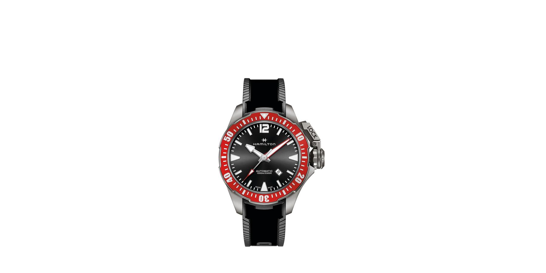 khakinavyfrogman - Une montre de plongée conçue avec l'apnéiste Pierre Frolla