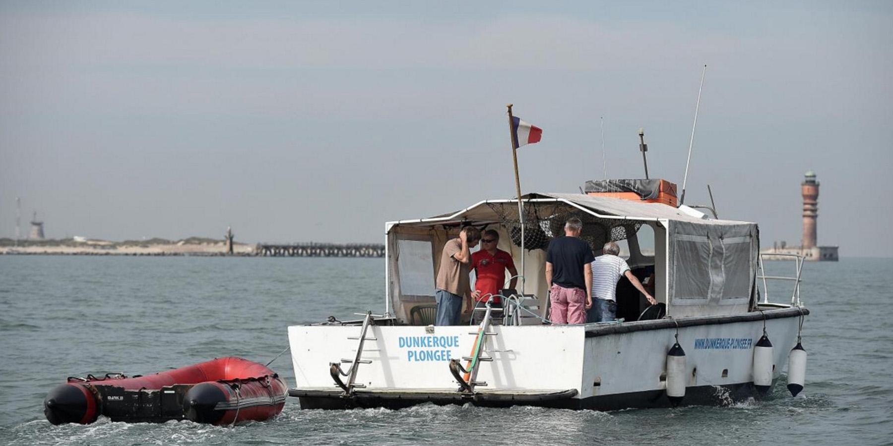 Photo M Demeure Voix du Nord - Prospections archéologiques à Dunkerque : à la reconquête du passé
