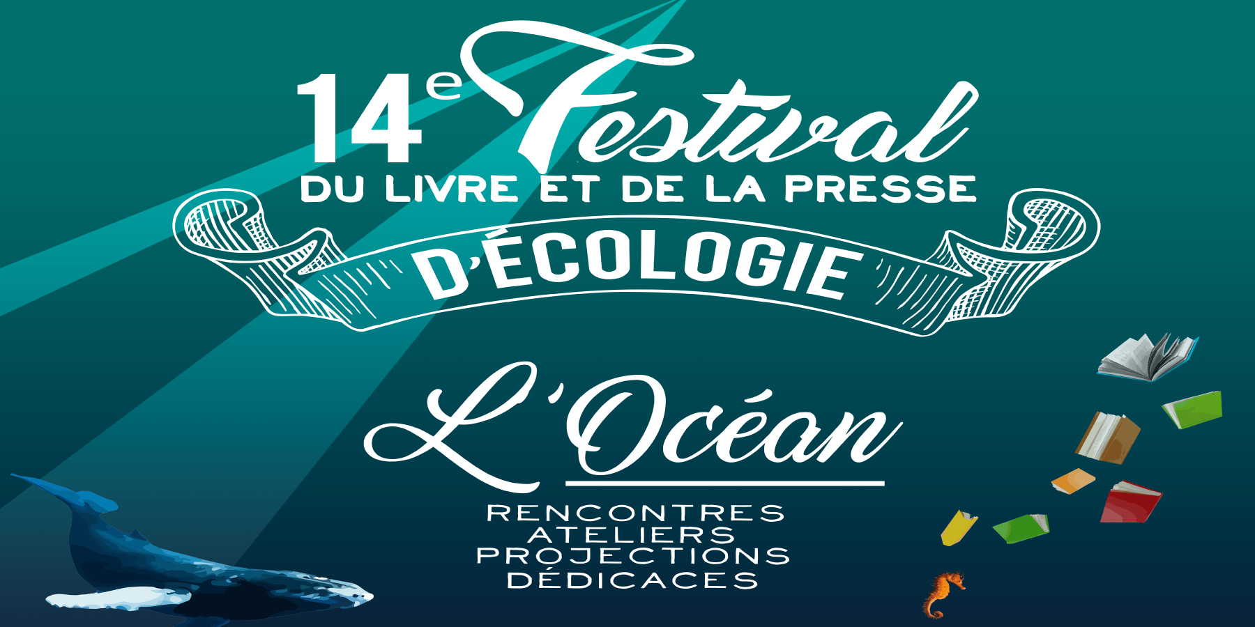 festival livre presse ecologie - L'océan à l'honneur au 14e festival du livre et de la presse écologique