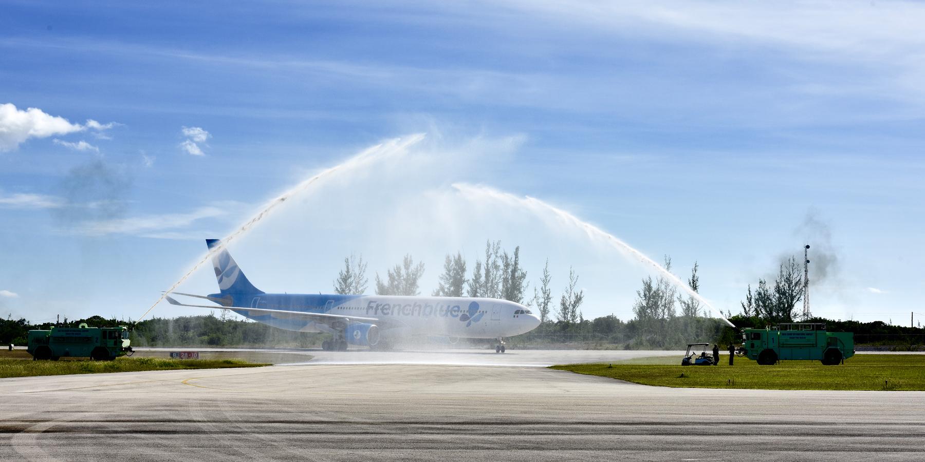 inauguration air caraibes - Lancement d'un vol direct entre Orly et l'île de San Salvador aux Bahamas
