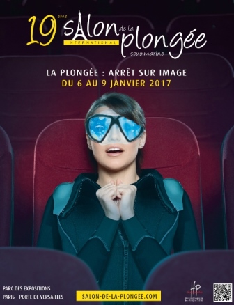 Affiche du salon de la plongée © HP Communication