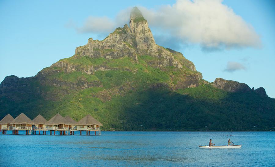 Vue de Bora-Bora © Tahiti Tourisme