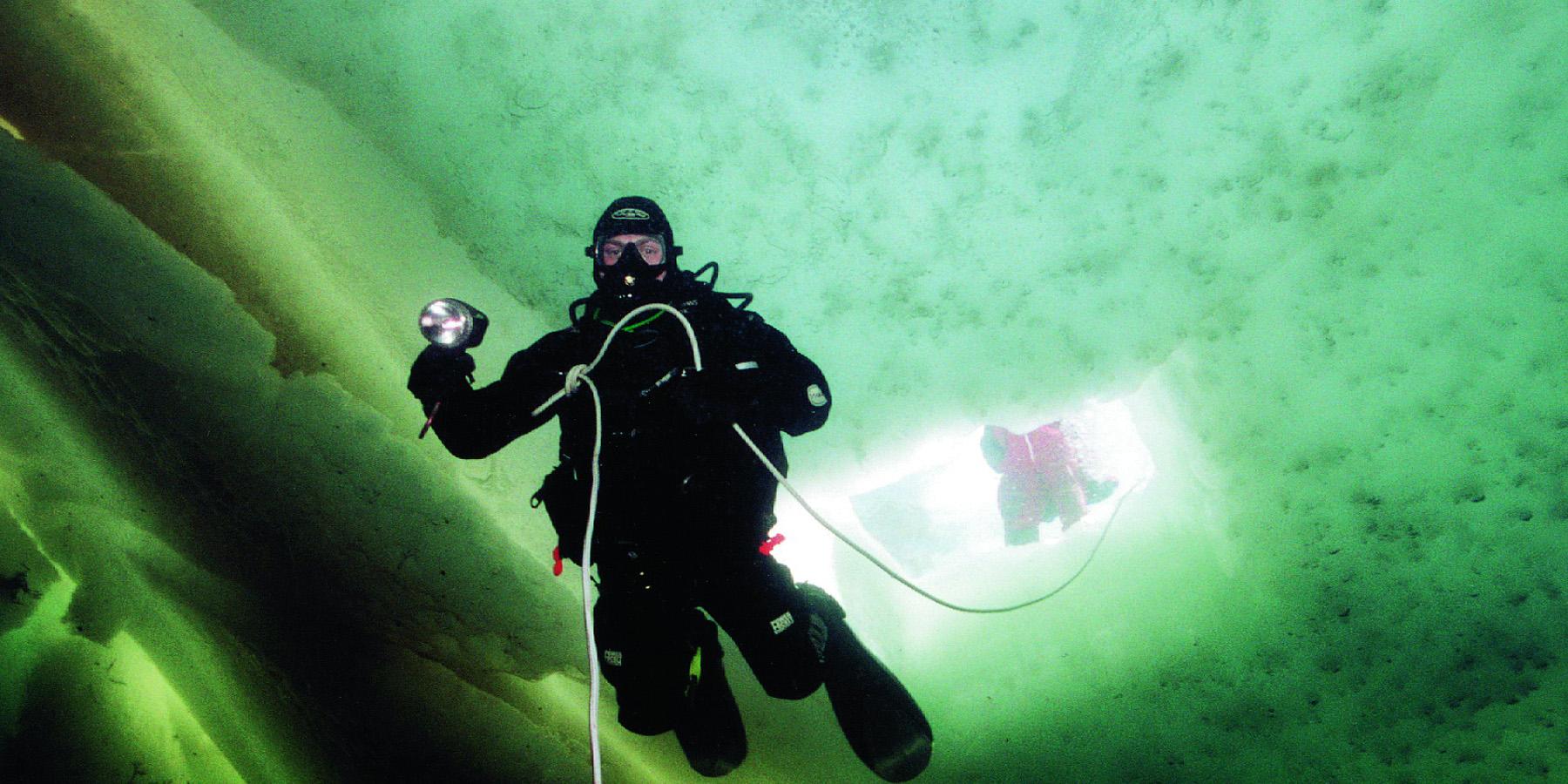 mer blanche - La mer Blanche, des plongées sous-glace dépaysantes