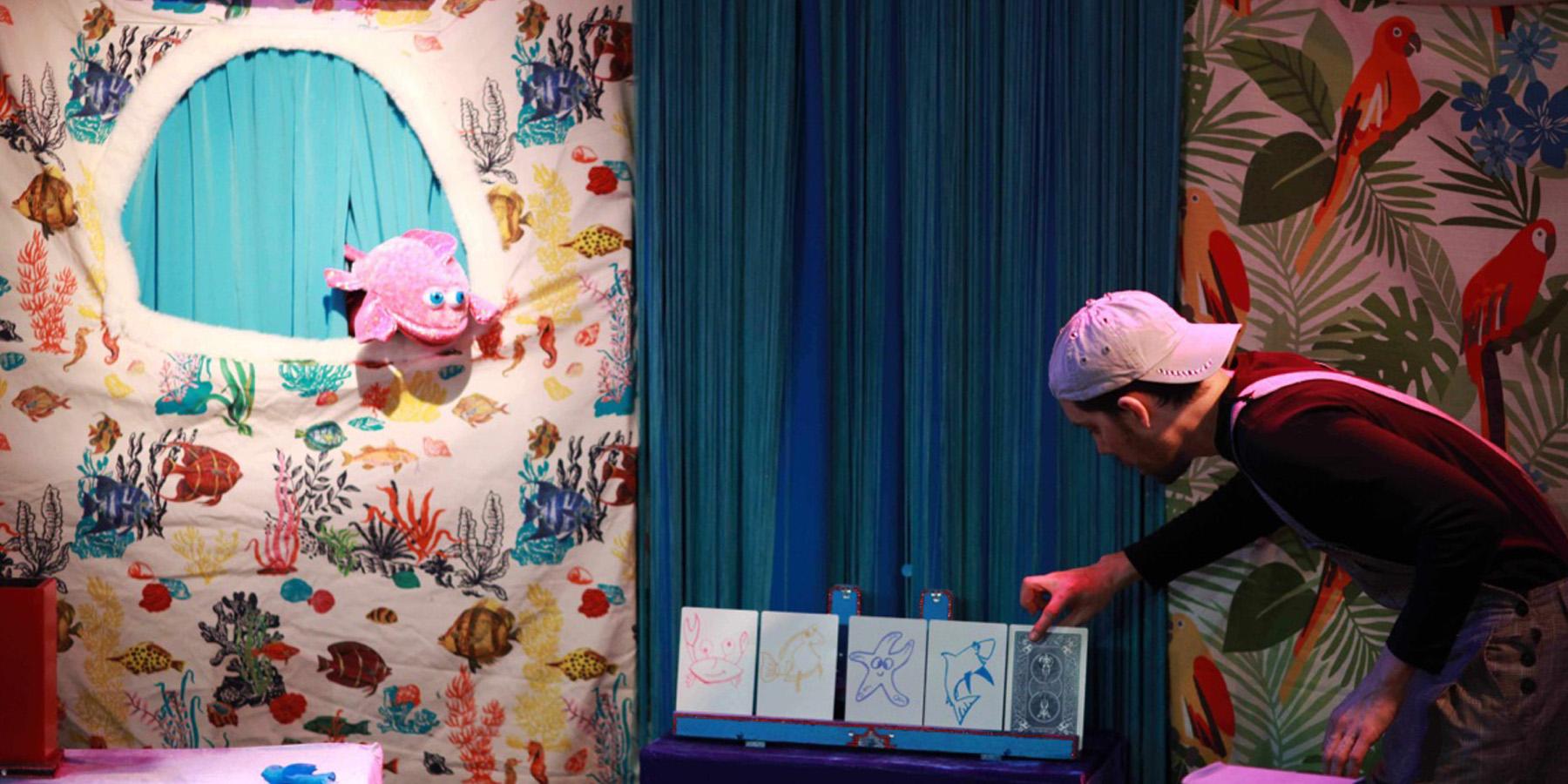 orque - 'L'orque qui voulait manger des fraises', un spectacle féerique pour les enfants