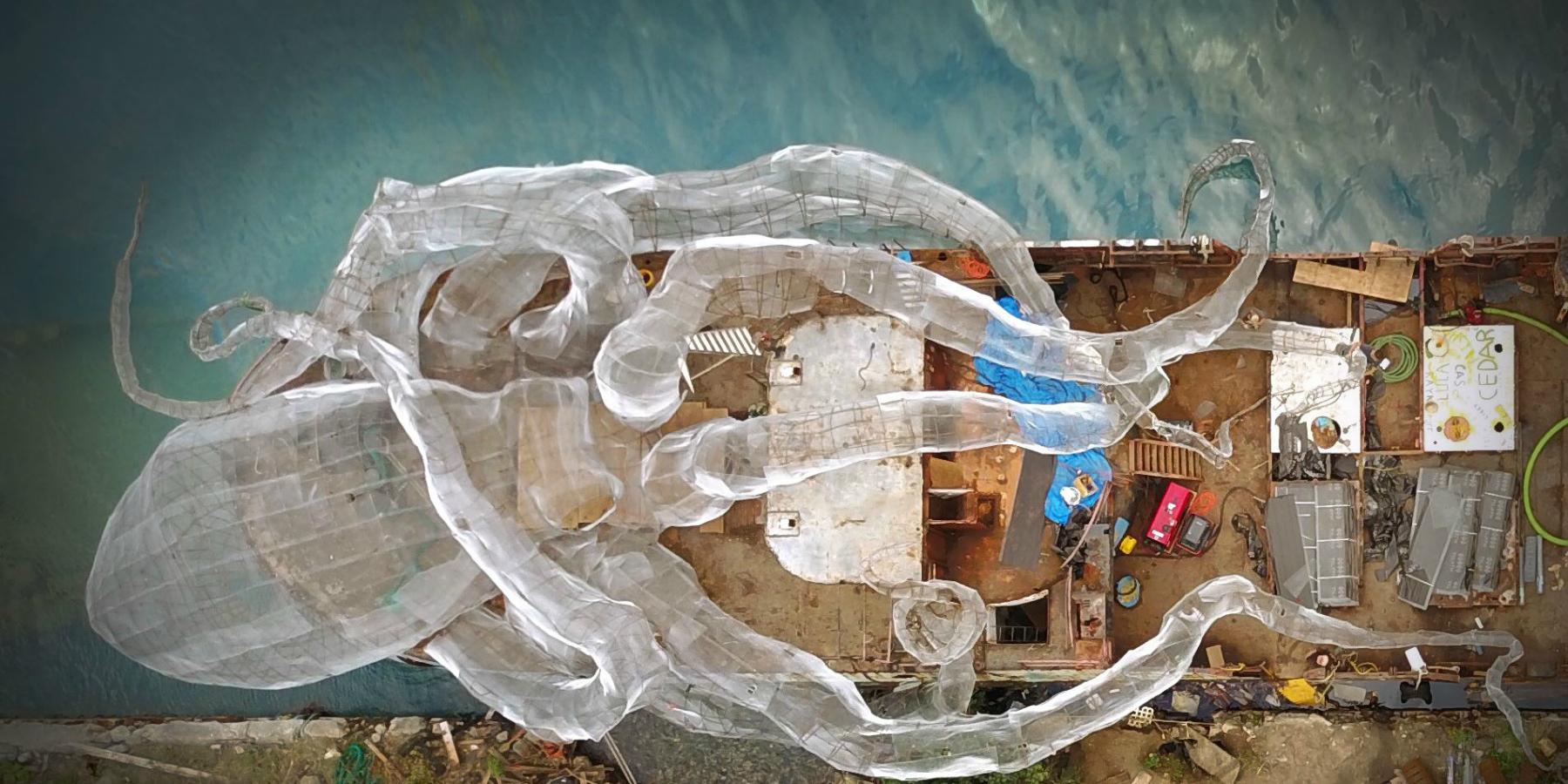 BVI Art Reef photo 1 - Vidéo : revivez le sabordage du Kodiac Queen aux Îles Vierges