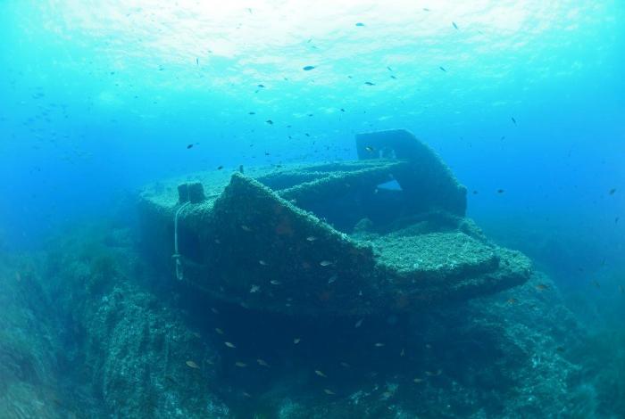 Aucune information claire n'existe sur les causes du naufrage de ce bateau. © Nicolas Barraqué
