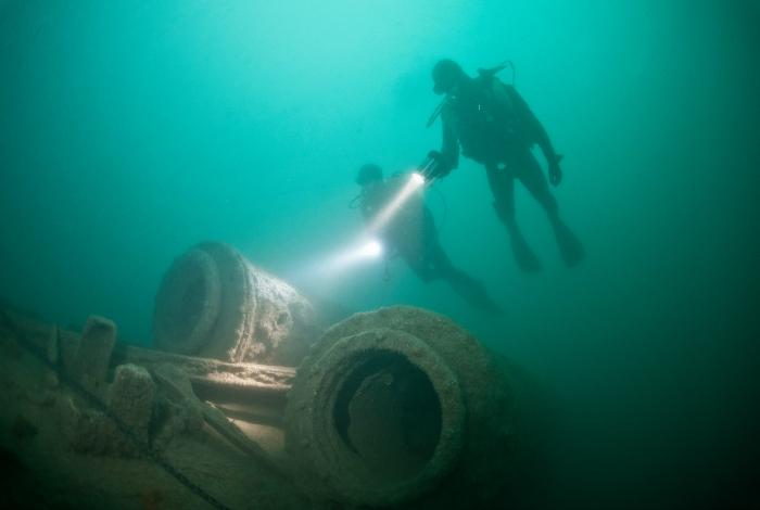 Un lance-torpilles sur l'U171 ©Nicolas Job