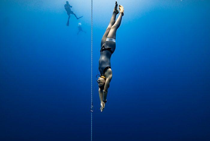 Sofia Gomez Uribe, Colombie, 59 mètres. © Daan Verhoeven.