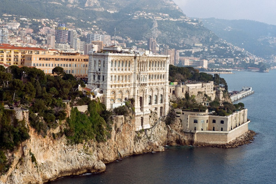 Façade du Musée océanographique de Monaco. © M. Dagnino – Musée océanographique