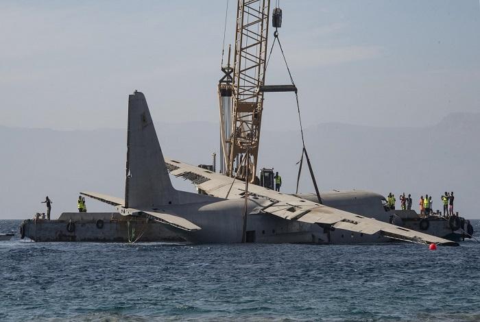 En trois minutes l'avion avait disparu. © Dominique Barray