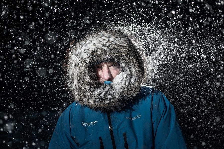 Alban Michon est déterminé à mener à bien cette nouvelle expédition, en solitaire cette fois. @ Andy Parant