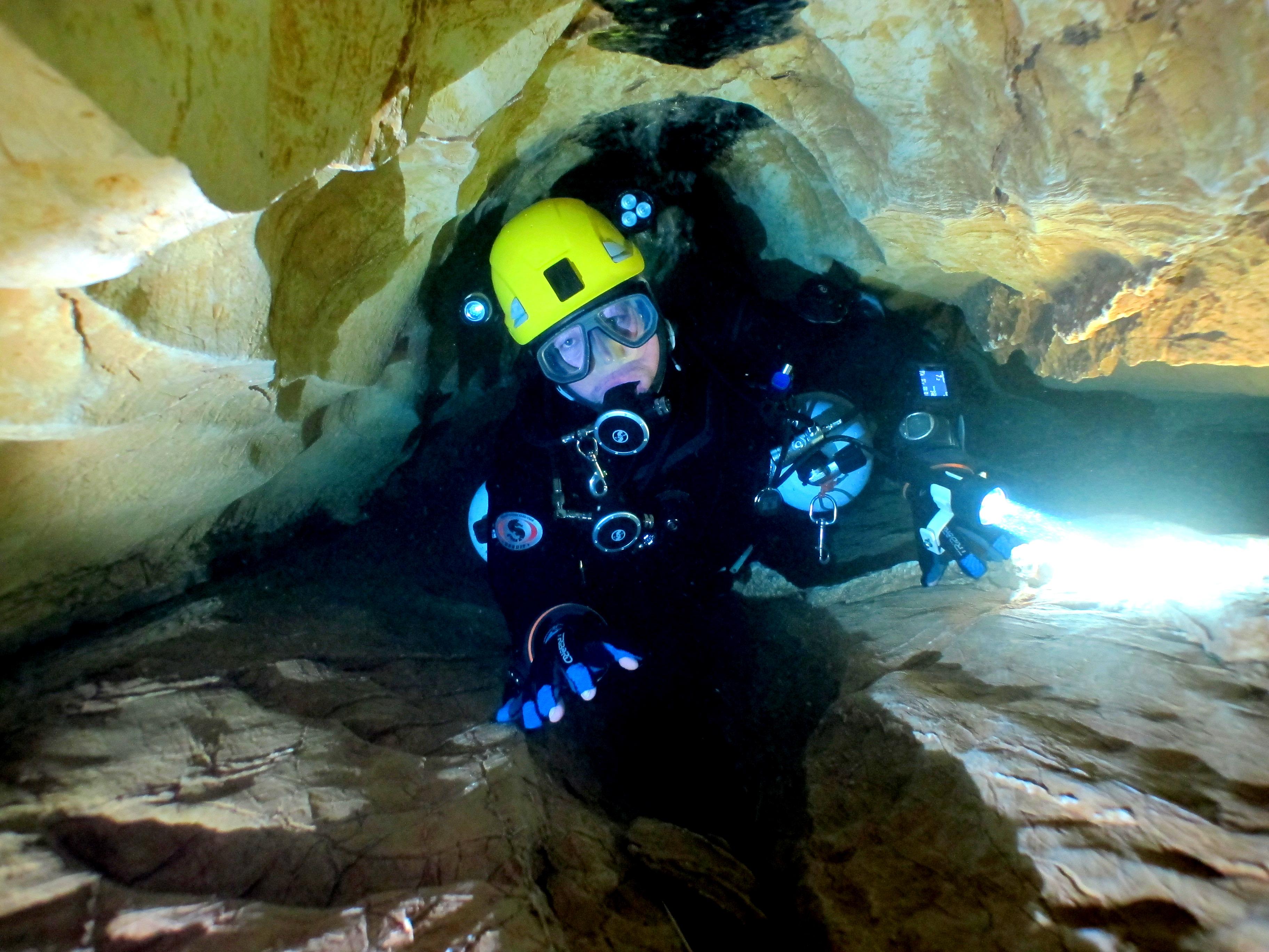 La plongée souterraine attire de plus en plus d'adepte en France et dans le monde. ©Pierre-Éric Deseigne