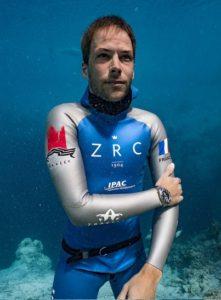 Stéphane Tourreau lors de la dernière édition du Vertical Blue. ©Dann Verhoeven