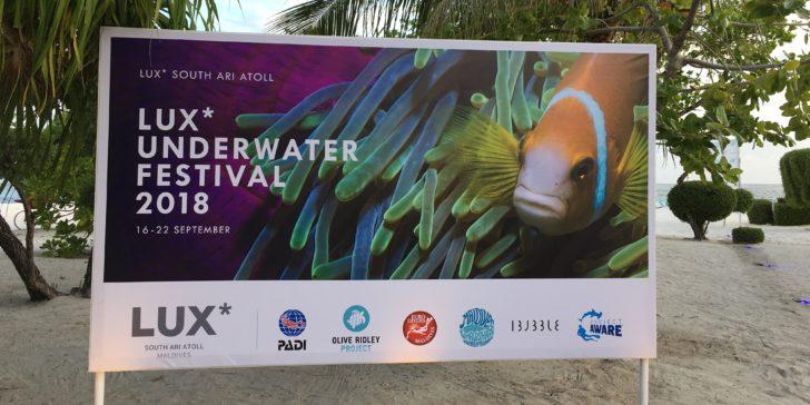 Festival Lux Underwater South Ari Atoll aux Maldives