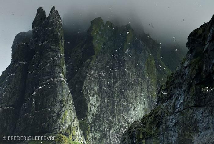 """Catégorie paysages naturels du monde """"Boreray - St Kilda Archipelago - Scotland"""". © Frédéric Lefebvre."""