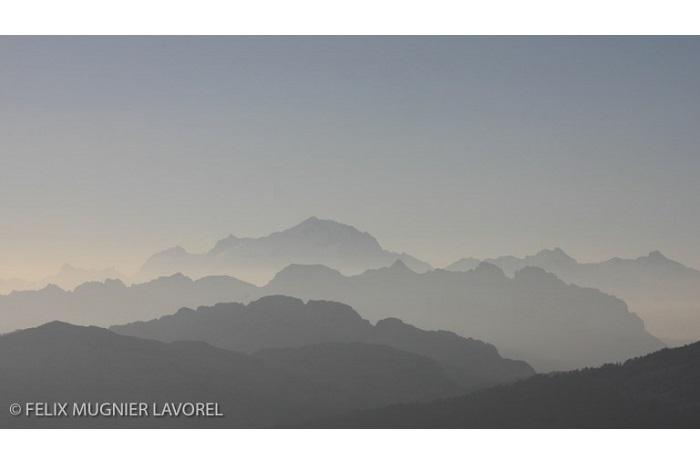 """Catégorie paysages naturels du monde """"Dégradé. © Félix Mugnier-Lavorel."""
