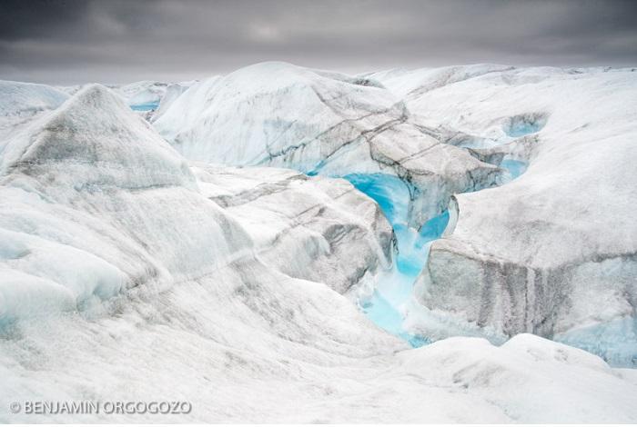 Prix paysages naturels du monde - plus de 16 ans - Esquisse. © Benjamin Orgogozo