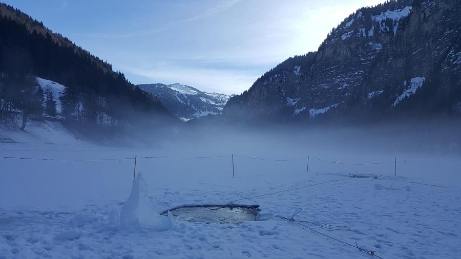 Lac de Montriond en Haute-Savoie © Margot Harty
