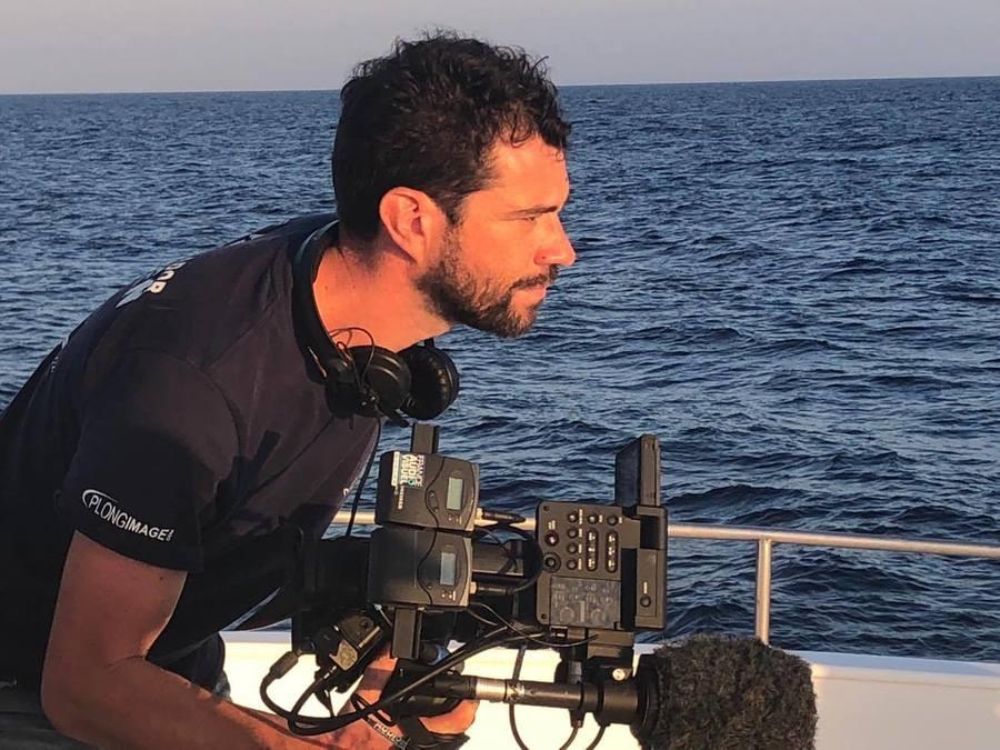 Sur le tournage du pilote de la série Legacy. @ Legacy - Le seigneur du large