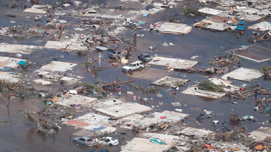 Bahamas après le passage de l'ouragan Dorian