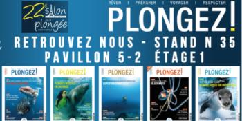 La magazine au salon de la plongée 2020