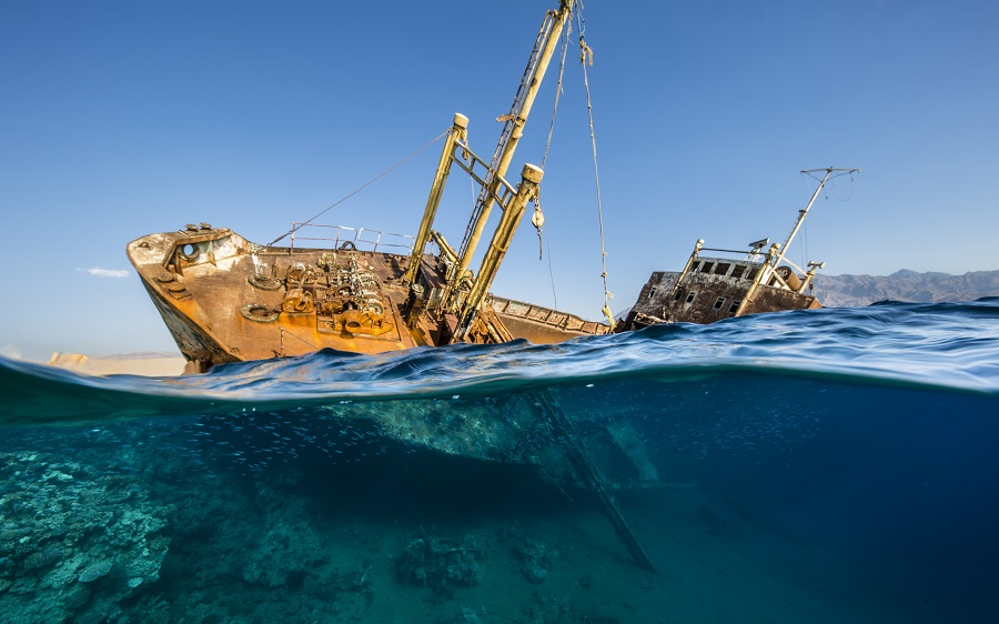 """Saudi Titanic"", Arabie Saoudite. © Renee Capozzola / UPY2020"