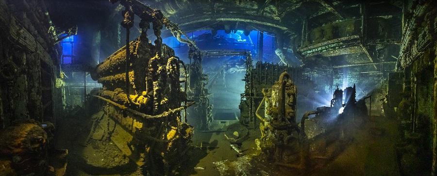 """""""The engine"""", Égypte. © Tobias Friedrich / UPY2020"""