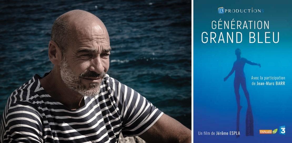 Jean-Marc Barr, parrain des Nauticales 2020 présente le film de Jérôme Espla, Génération Grand Bleu. © Jérôme Espla