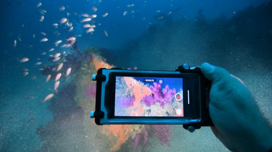 Le caisson pour smartphone SeaTouch 2 pro