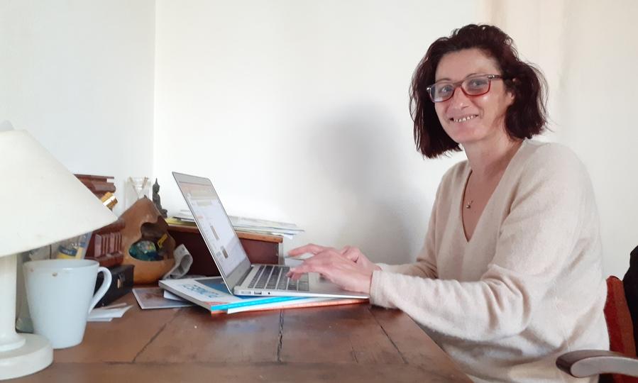Isabelle Croizeau, rédactrice en chef.