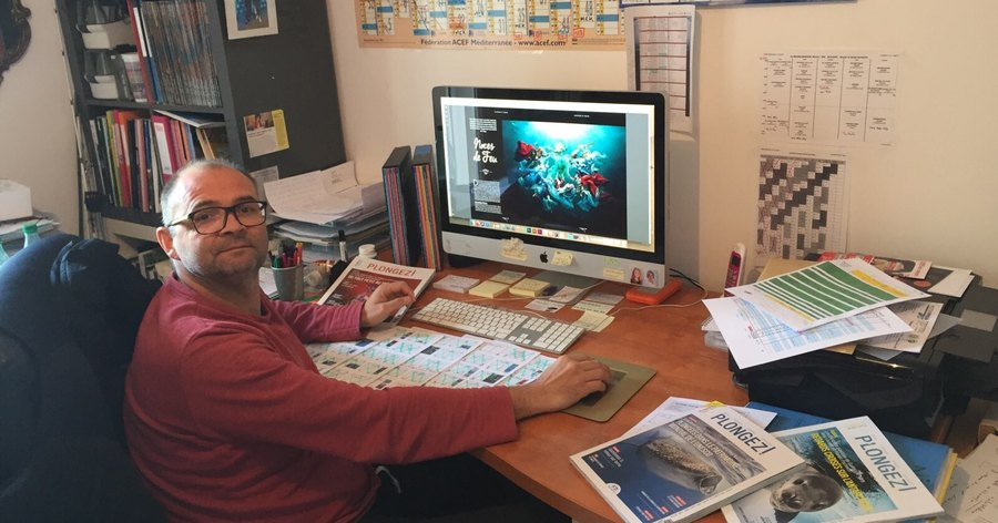Patrice Le Moigne, réalisation graphique et suivi de production.
