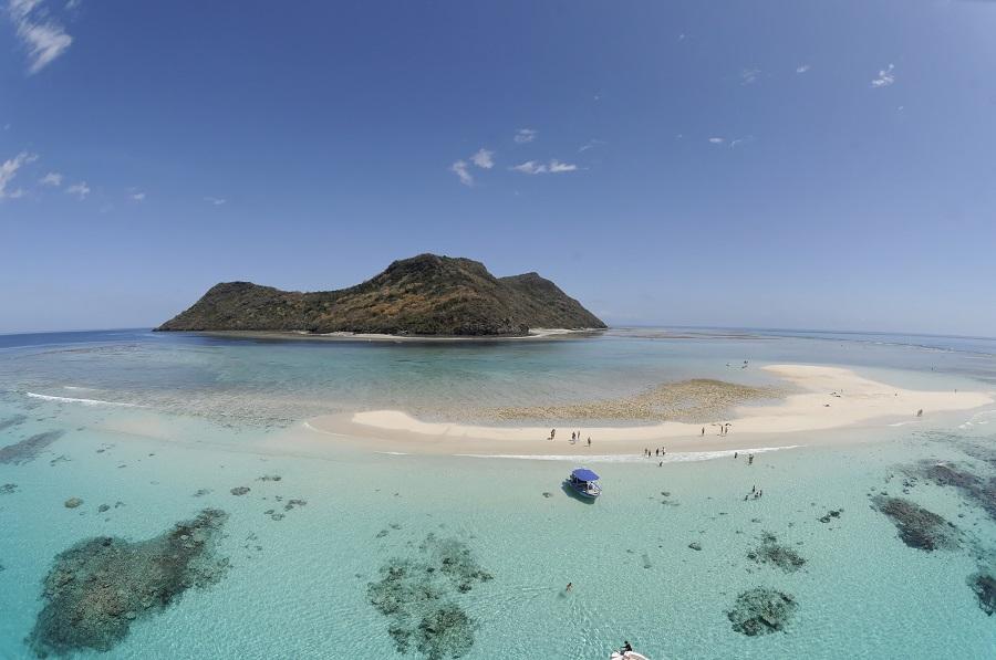 La parc naturel de Mayotte, vue du ciel. © Marc Allaria / OFB